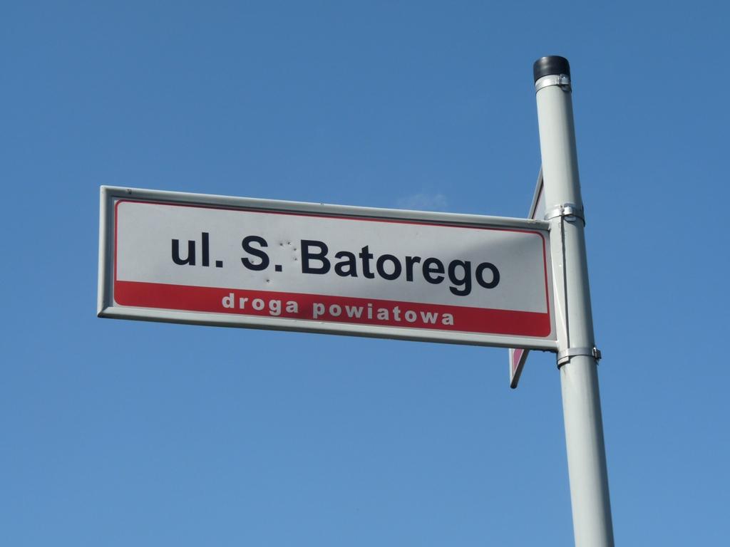 Ulica Batorego – zmiana organizacji ruchu
