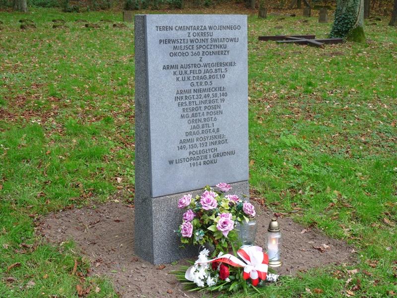 Uczcili pamięć poległych w czasie I i II wojny światowej