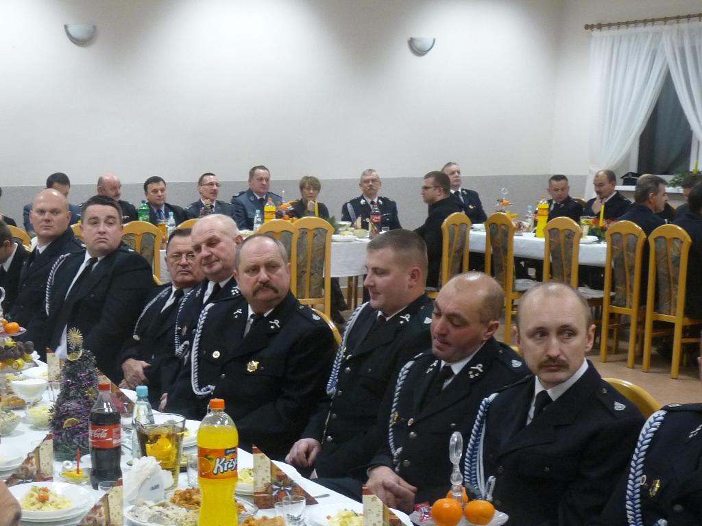 Spotkanie opłatkowe OSP w Gminie Buczek