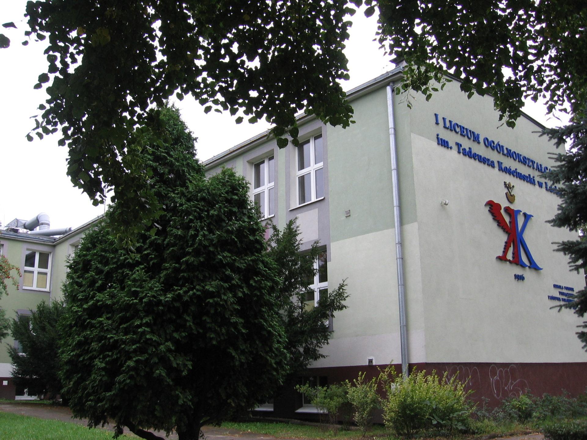 I Liceum Ogólnokształcące im Tadeusza Kościuszki w Łasku