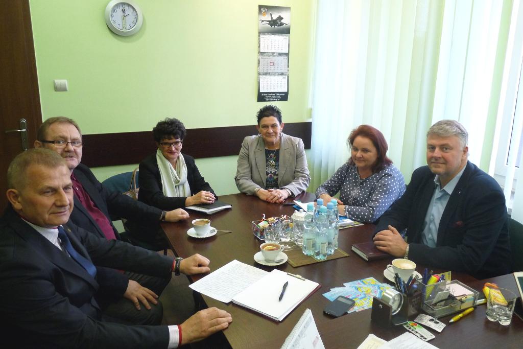 Spotkanie władz samorządowych