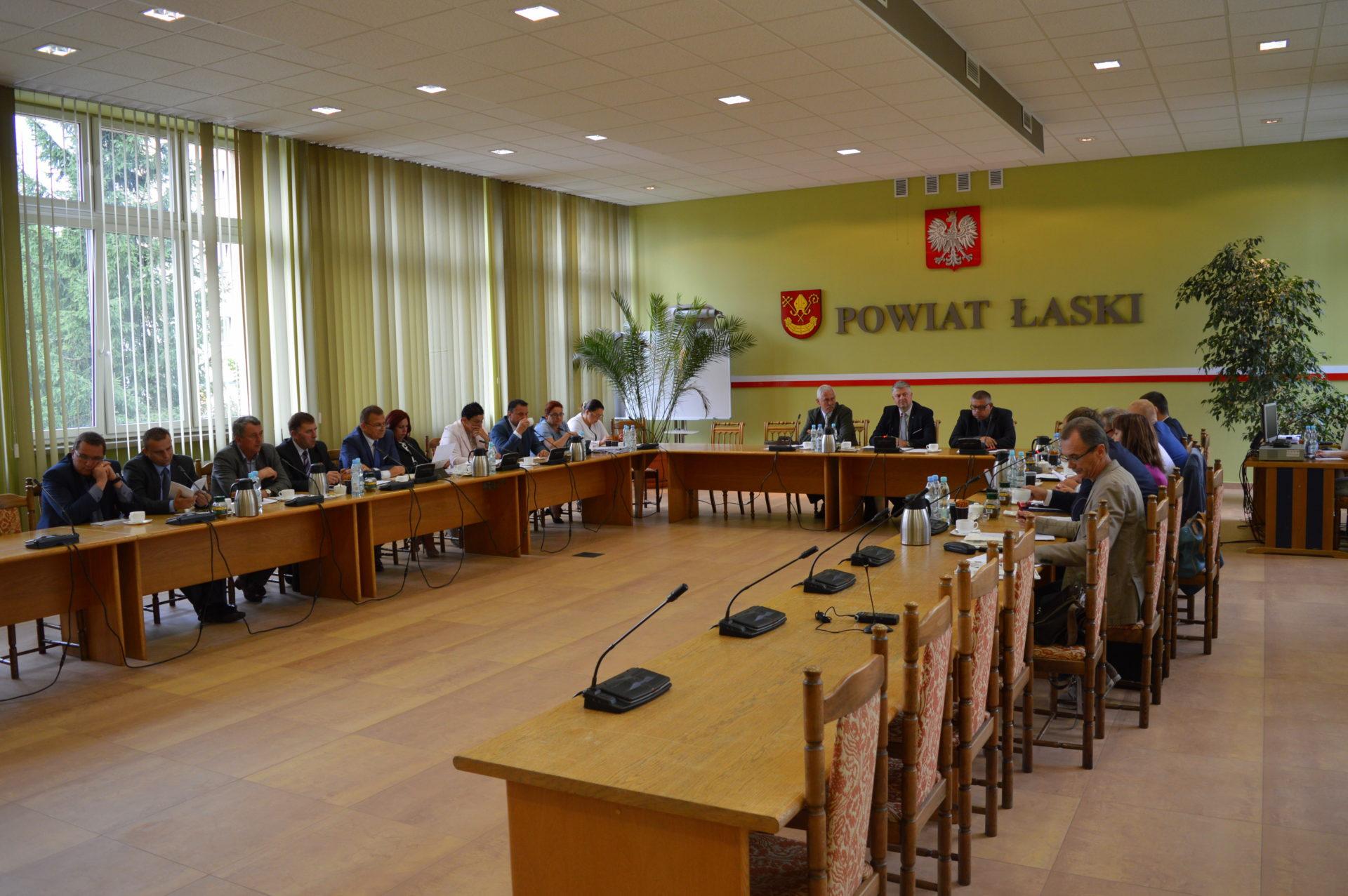 XIII sesja Rady Powiatu Łaskiego