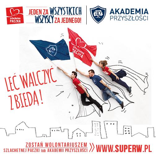 Zostań Wolontariuszem SZLACHETNEJ PACZKI!