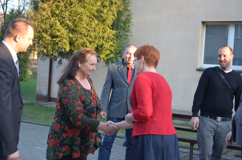 Anna Dymna odwiedziła SOSW w Łasku