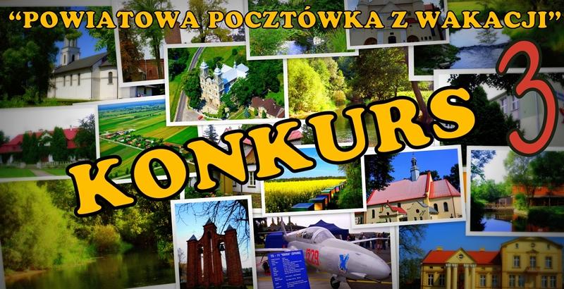 """Wyniki konkursu """"Powiatowa Pocztówka z Wakacji"""""""