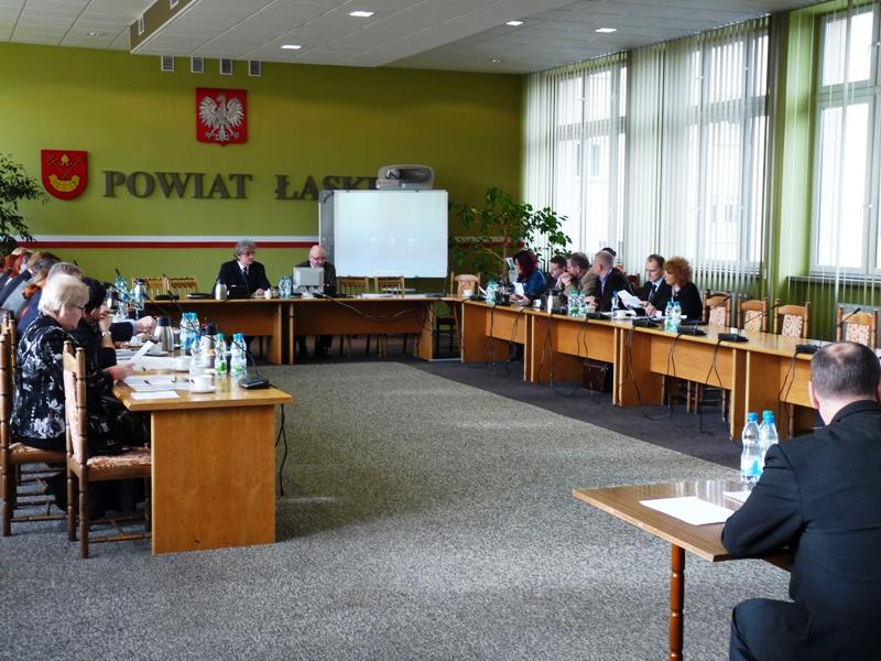 XLVI sesja Rady Powiatu Łaskiego