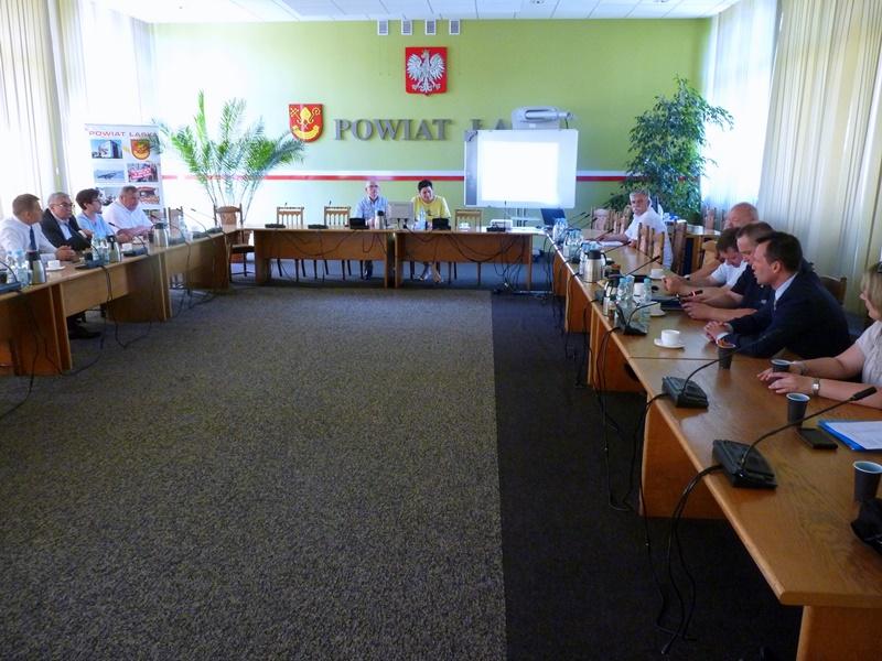 Ostatnie przygotowania do Wojewódzkiego Święta Policji w Łasku