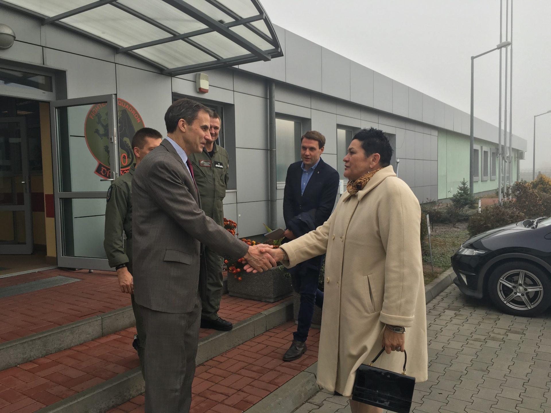 Ambasador USA odwiedził 32. BLT