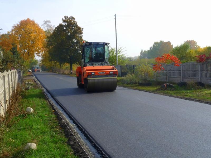 Przebudowa drogi powiatowej w Anielinie