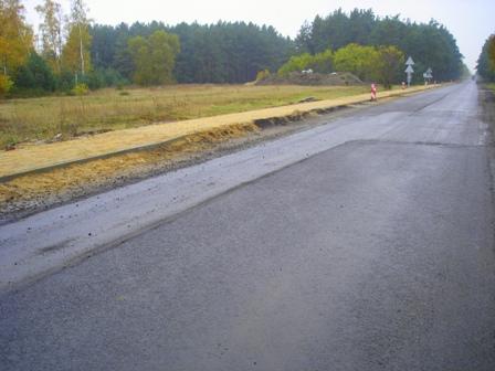 Kumulacja inwestycji drogowych w Powiecie Łaskim
