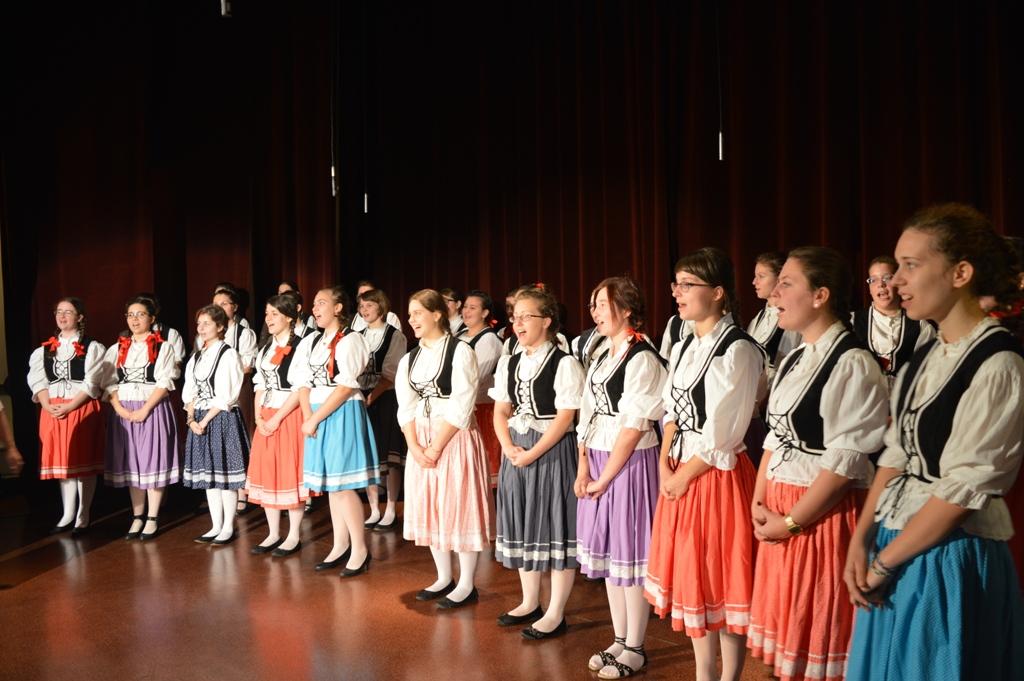 Koncert Chóru z Węgier w Łasku
