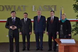 Wizyta Wicepremiera w Łasku