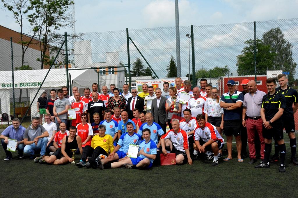 I Samorządowy Turniej Piłki Nożnej  o Puchar Starosty Łaskiego