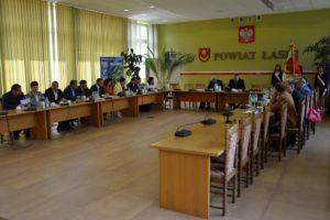 XXVII sesja Rady Powiatu Łaskiego