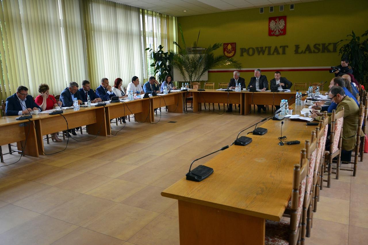 XXXIX sesja Rady Powiatu Łaskiego