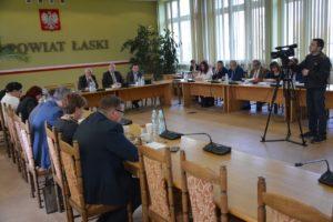 L sesja Rady Powiatu Łaskiego