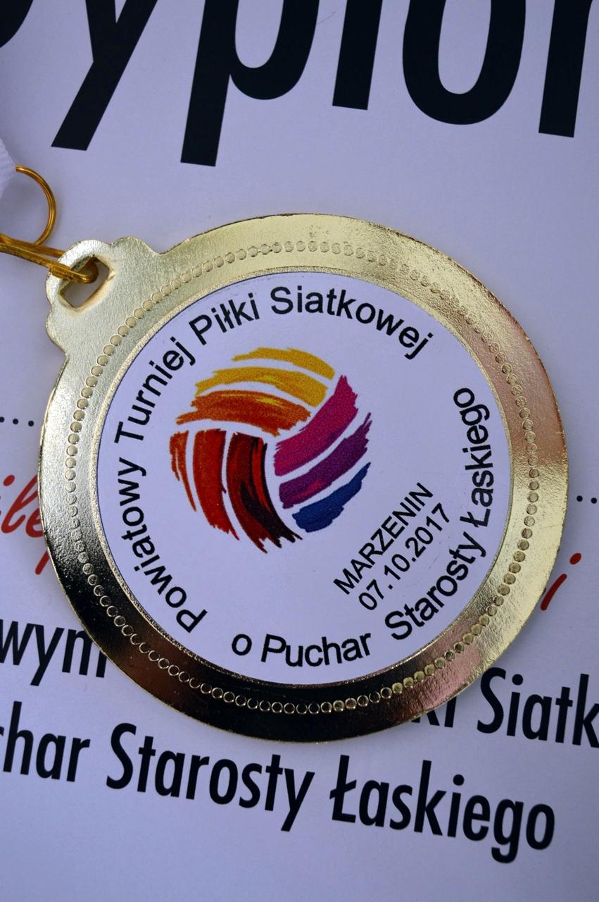 Powiatowy Turniej Piłki Siatkowej o Puchar Starosty Łaskiego