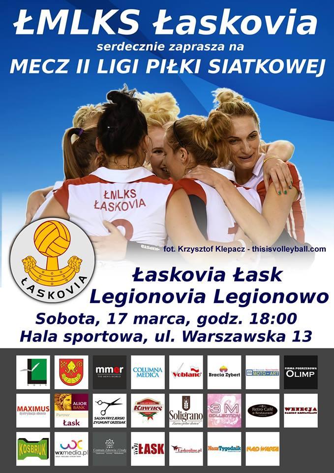 Łaskovia – Legionovia