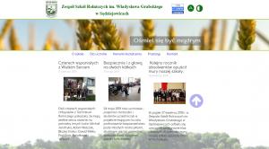 Nowy adres i wygląd strony ZSR w Sędziejowicach
