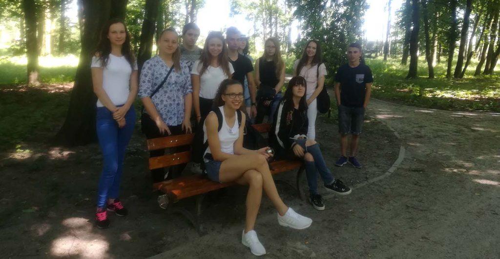 Wycieczka do Parku Miejskiego im. Rodu Łaskich