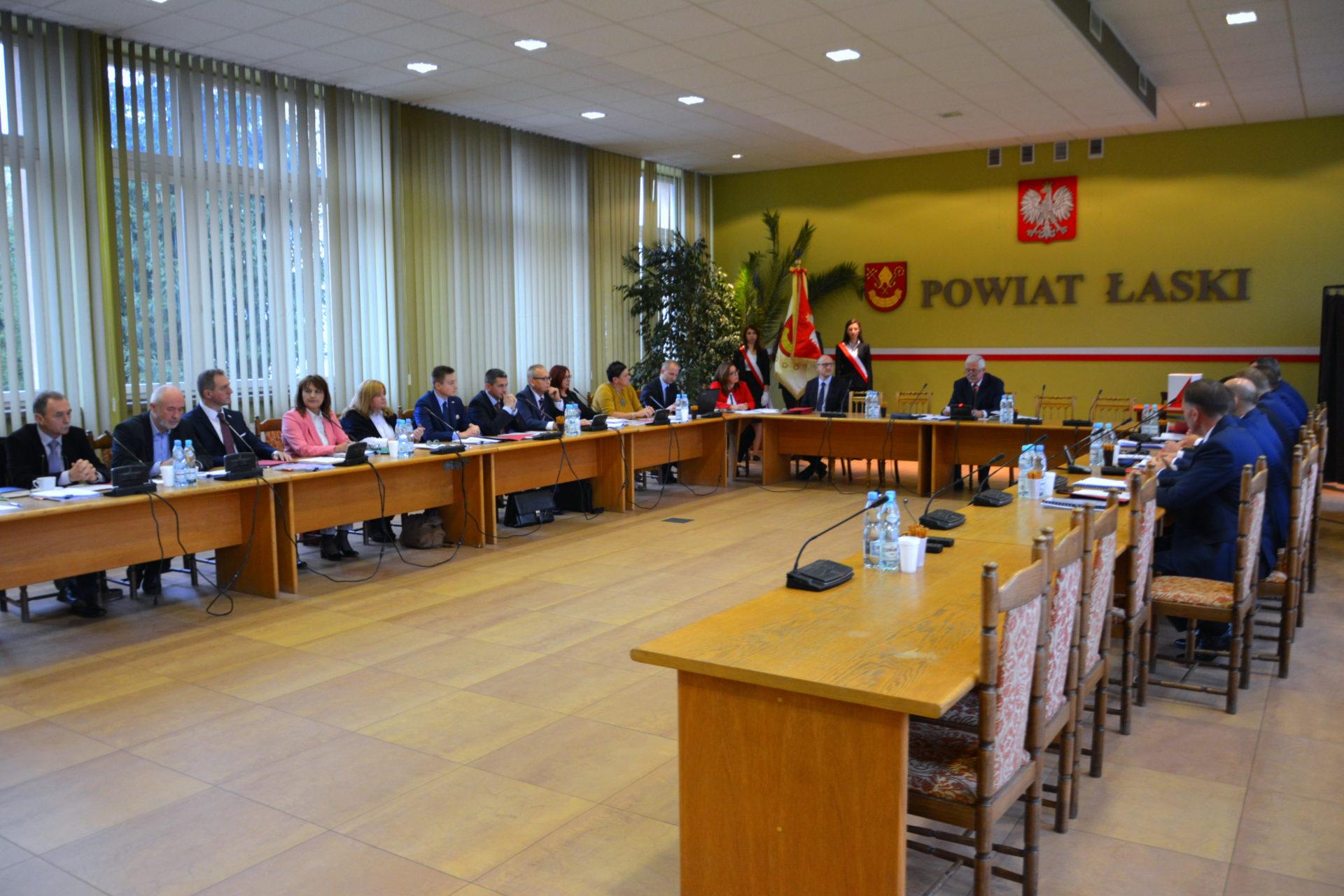 X sesja Rady Powiatu Łaskiego