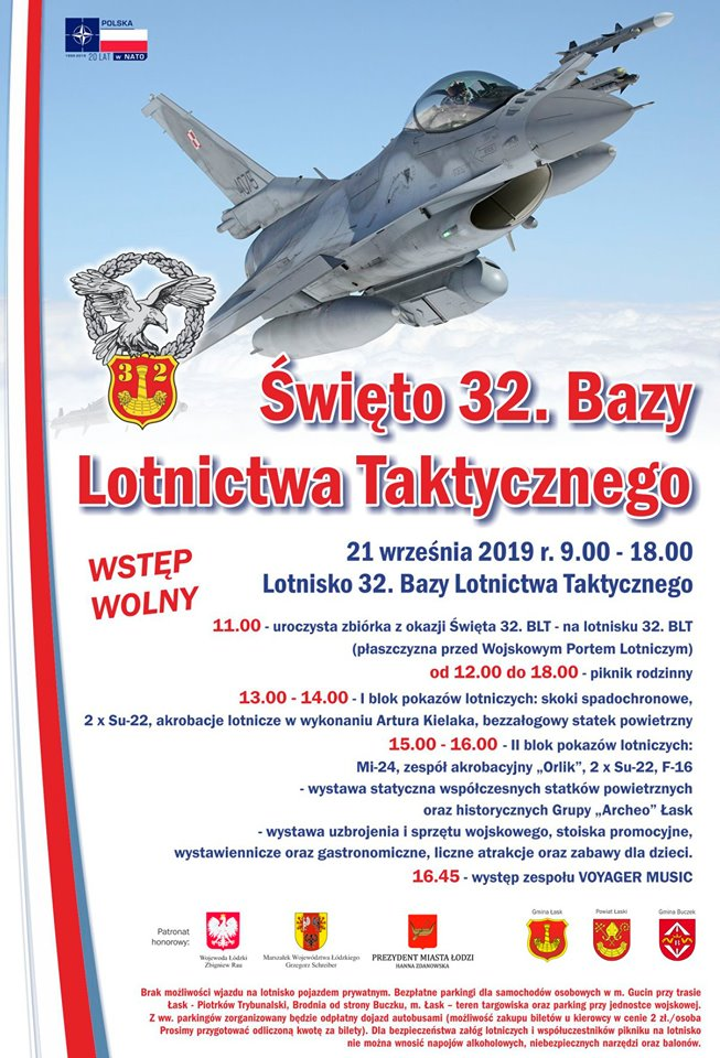 Święto 32. Bazy Lotnictwa Taktycznego