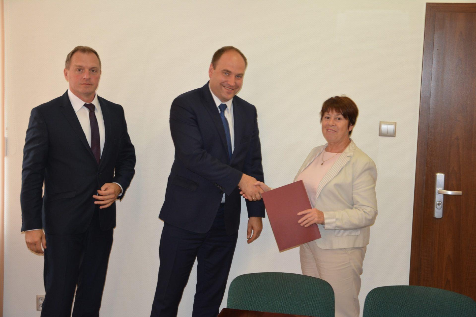 Podpisano umowę na przebudowę ulicy Ogrodowej.