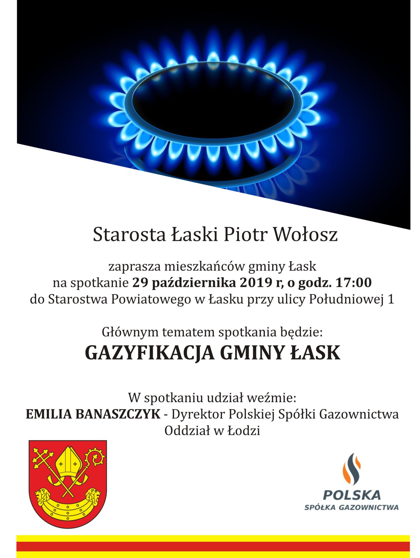 Spotkanie Gazyfikacja gminy Łask