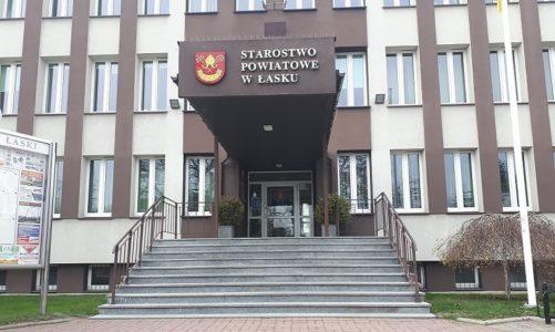KOMUNIKAT: Starostwo Powiatowe w Łasku nieczynne dla petentów.