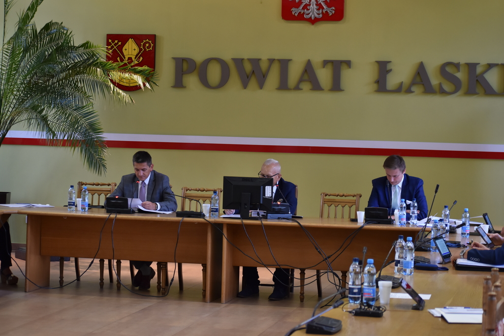 XXXI sesja Rady Powiatu Łaskiego