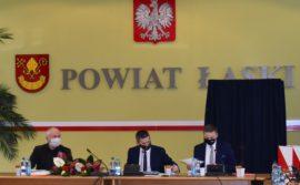 XXXVII sesja Rady Powiatu Łaskiego