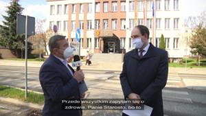 Rozmowa z Piotrem Wołoszem – Starostą Łaskim na temat oferty edukacyjnej Powiatu Łaskiego