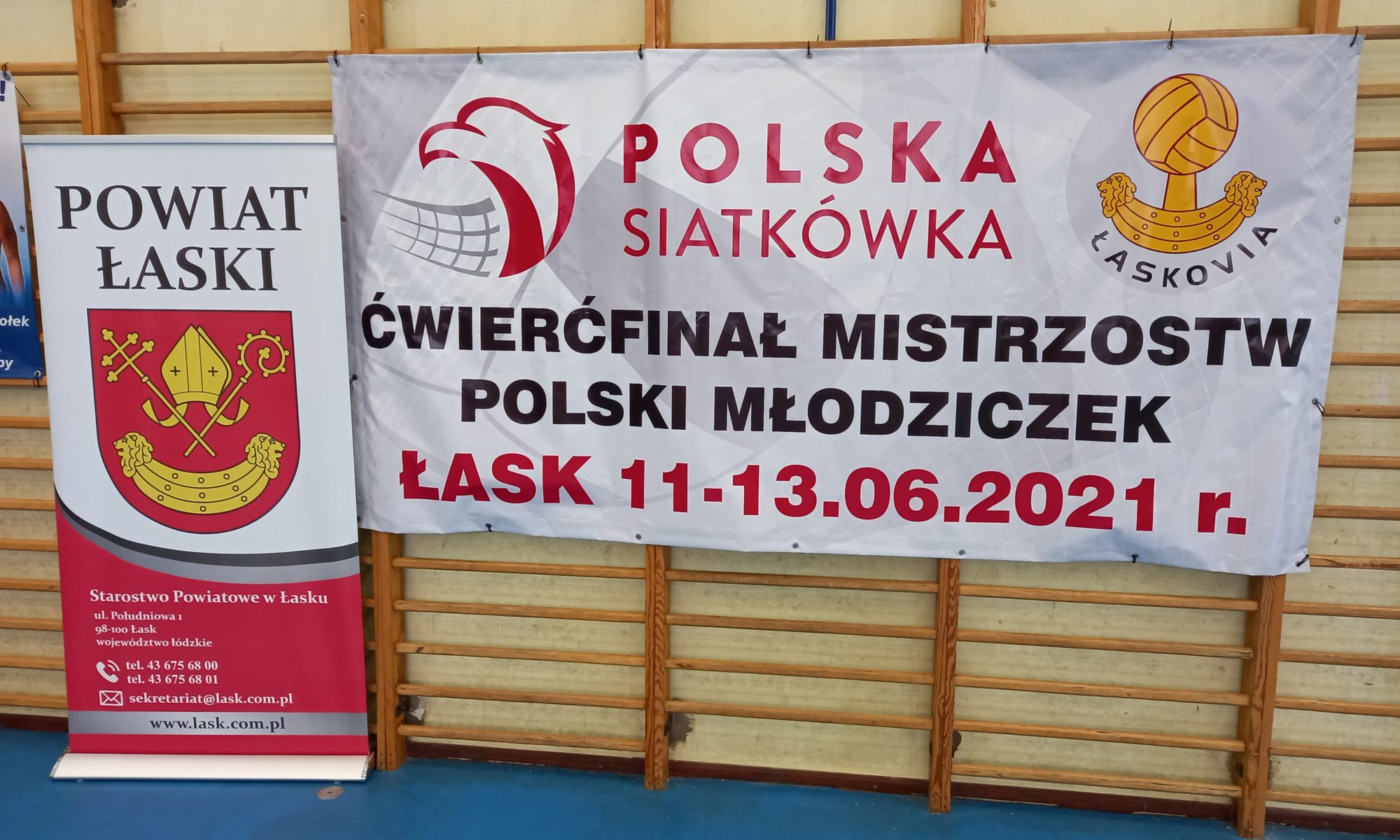 artykuł  Ćwierćfinał Mistrzostw Polski Młodziczek w Łasku