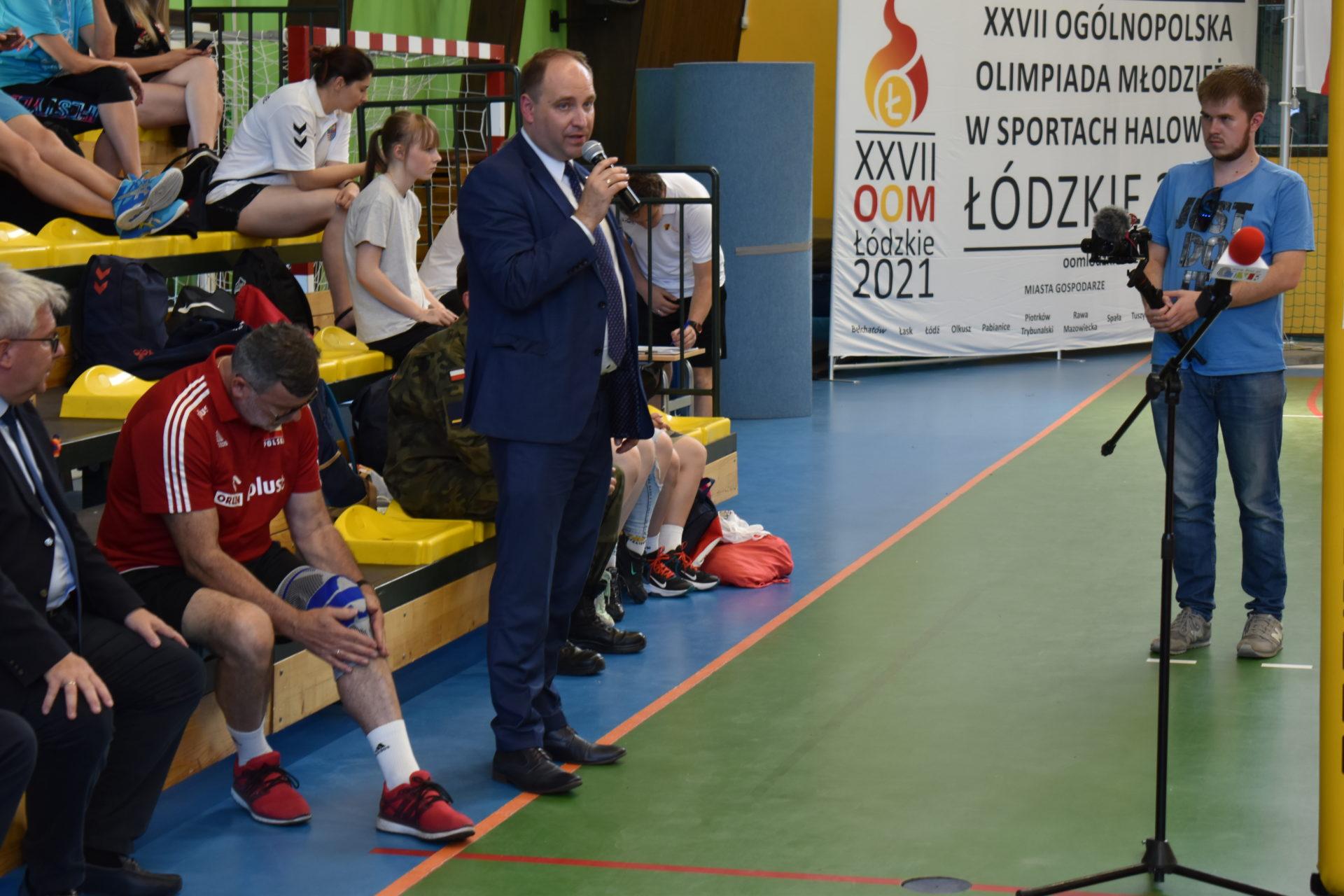 XXVII Ogólnopolska Olimpiada Młodzieży w Sportach Halowych Łódzkie 2021