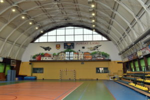 Mural na Hali Sportowej MOS
