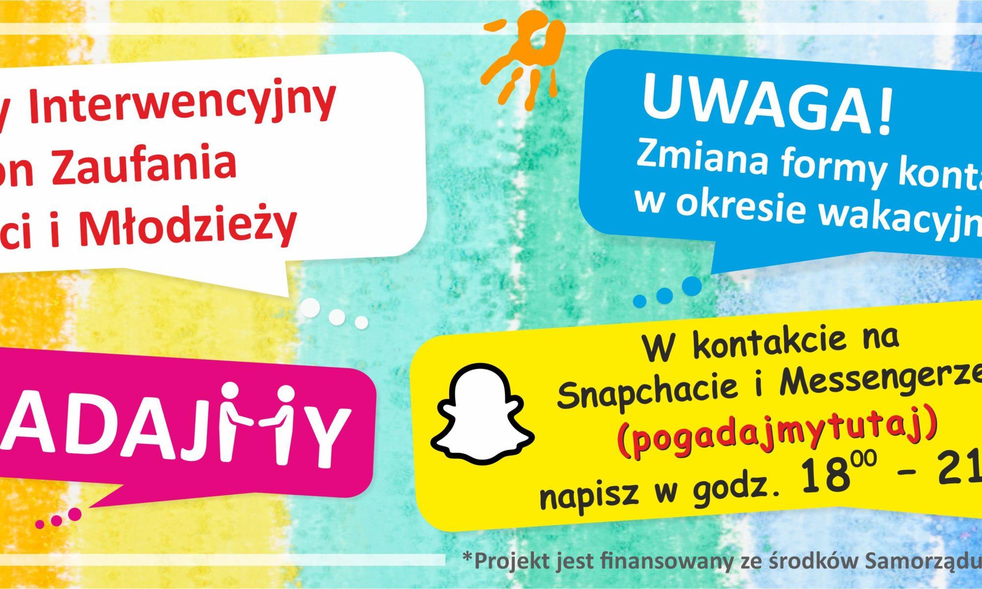 artykuł  Regionalne Centrum Polityki Społecznej w Łodzi: Zmianie ulega forma funkcjonowania Regionalnego Interwencyjnego Telefonu Zaufania dla Dzieci i Młodzieży