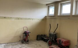 Modernizacja szatni i pomieszczeń sanitarnych przy sali I LO w Łasku