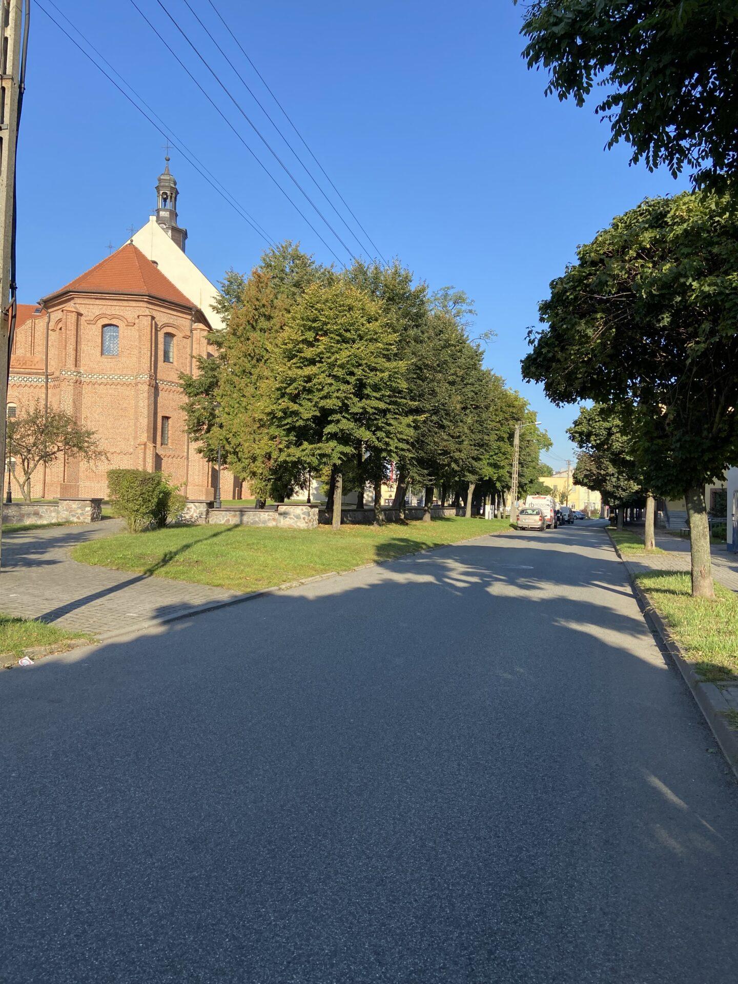 Budowa przejścia dla pieszych na ul. Warszawskiej w Łasku