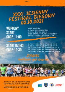 XXXI Jesienny Festiwal Biegowy w Żywcu